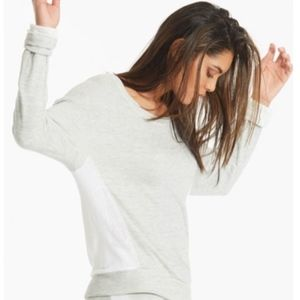 Hard Tail Mesh Back Scoop Pullover